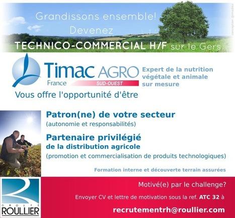 Recrutement attaché technico-commercial H/F – La petite Gascogne | Actus du Gers | Scoop.it