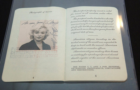 Passport photographs of celebrities - in pictures - The Guardian | New Photography | Scoop.it
