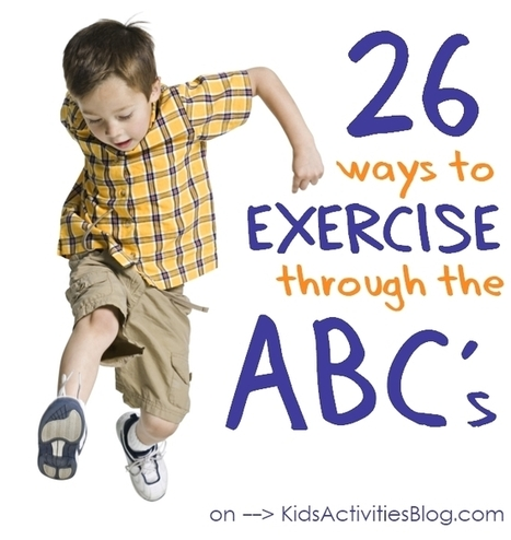 Make Physical Fitness Fun {Alphabet Exercises} | SMART TINKER SCOOPS FOR PARENTS | Scoop.it