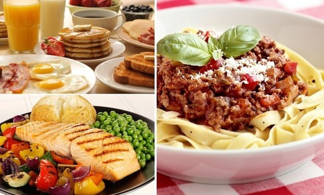 Two hearty meals each day better for you than 6 snacks: Eating a big breakfast and lunch helps control weight and blood sugar levels | Kevin and Taylor Potential News Stories | Scoop.it