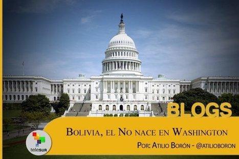 CNA: ¿Cuál es el objetivo de EEUU en Bolivia? | La R-Evolución de ARMAK | Scoop.it