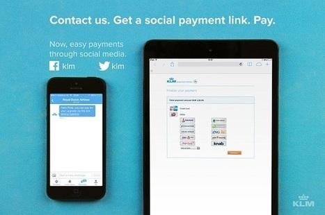 Réseaux sociaux : KLM lance l'achat de billets d'avion sur Facebook et Twitter   Tours Opérateurs actualité   Scoop.it
