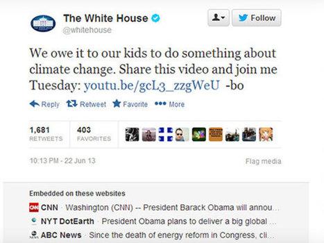 Twitter affiche maintenant les sites ayant intégré des tweets à leurs pages | Daily Com' & MKG | Scoop.it