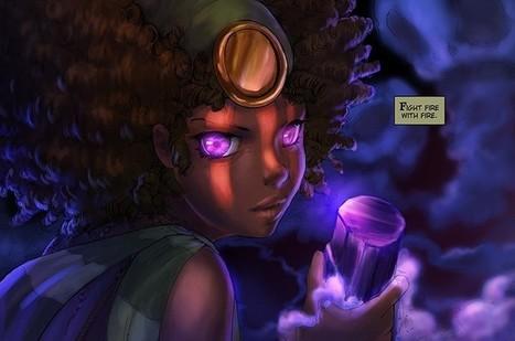 New Camilla d'Errico Webcomics Continue as 'Sky Pirates of Neo Terra' Game Readies to Fly - ComicsAlliance   Ladies Making Comics   Scoop.it