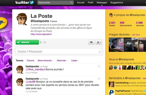 Twitter, un canal de relation client alternatif performant ? | Time to Learn | Scoop.it