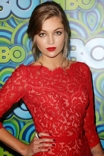 Lili Simmons gorgeous in red at HBO Emmy party in Los Angeles   VipsMag   Sexy Pics   Scoop.it