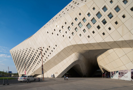 Sneak Peek: Zaha Hadid Architects' Nanjing International Youth Culture Center | The Architecture of the City | Scoop.it