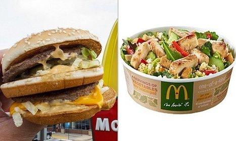 McDonald's new kale salad has more calories and fat than a Big Mac | Kickin' Kickers | Scoop.it
