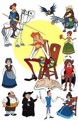 Personajes de Don Quijote de La Mancha | Español para los más pequeños | Scoop.it