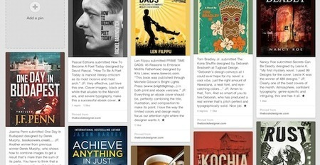 How to use Pinterest to Promote Your Book by Courtney Gornder — The Book Designer | Social Book Marketing | Scoop.it