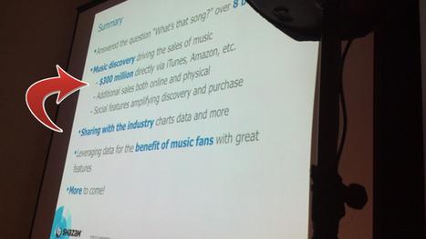 Digital Music News - Shazam Now Generates 1 Out of Every 14 Paid Downloads... | Music & Metadata - un enjeu de diversité culturelle | Scoop.it