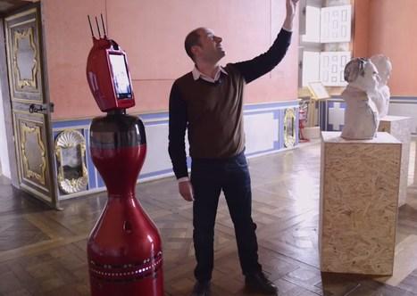 Norio le robot de visite au château d'Oiron. Suivez le guide ! | Actualités : systèmes d'information, ingénierie du logiciel, cloud, big data, robotique&systèmes autonomes... | Scoop.it