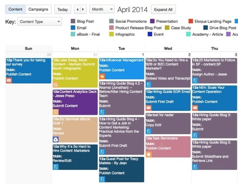 5 Reasons You Need a Content Marketing Calendar (And How to Make One) | PR & Communications daily news | Scoop.it