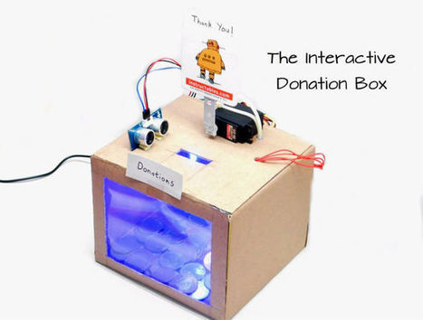 The Interactive Donation Box | FabLab - DIY - 3D printing- Maker | Scoop.it