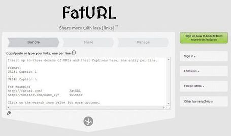 fatURL, la forma más completa de compartir múltiples enlaces | Recull diari | Scoop.it