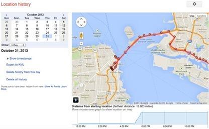 Où étiez-vous le 23 octobre à 13h37 ? Demandez à Google ! | great buzzness | Scoop.it