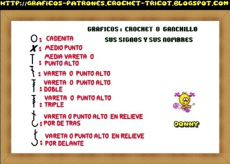 corazon tejido a ganchillo su patron = crochet = esquema = your ... | Hand ase | Scoop.it