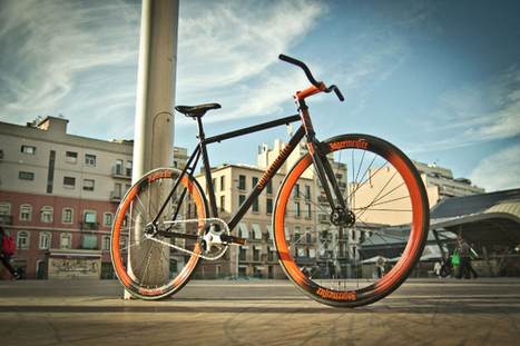 Jäger Fixed by Barceloneta Bikes | 25 Gramos | Fixie bikes | Scoop.it