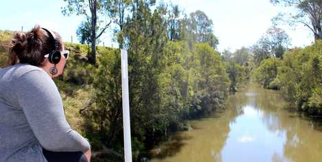 Dr Leah Barclay and the Australian Rivers Institute | Recipient of the 2014 Synapse Residency Program | DESARTSONNANTS - CRÉATION SONORE ET ENVIRONNEMENT - ENVIRONMENTAL SOUND ART - PAYSAGES ET ECOLOGIE SONORE | Scoop.it