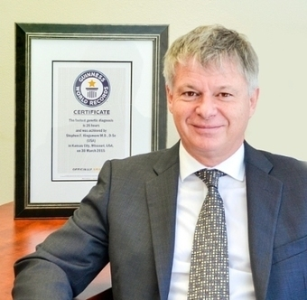 Dr. Stephen Kingsmore Sets Guinness World Records Title for Fastest Genetic Diagnosis | Amazing Science | Scoop.it