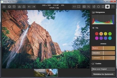 Polarr Photo Editor Free pour Windows - un éditeur gratuit de photo | Chroniques libelluliennes | Scoop.it