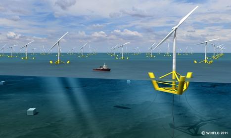 Actualité > Greentech : Winflo, l'éolienne flottante française | EMR | Scoop.it