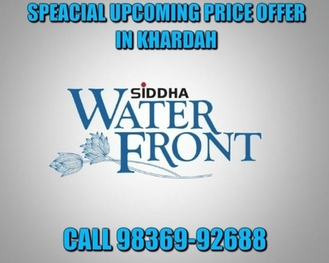 Siddha Water Front | Real Estate | Scoop.it