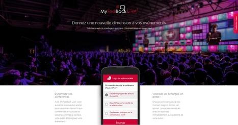 Donnez une nouvelle dimension à vos conférences avec MyFeelBack Live   Toulouse networks   Scoop.it