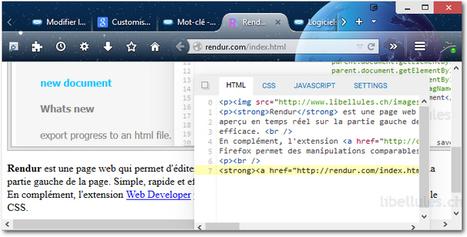 Rendur - Portail d'informatique   Au fil du Web   Scoop.it