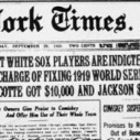 1919 White Sox World Series | Sporting Moments | Scoop.it