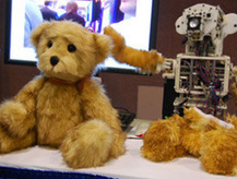 Teddy bear-faced robot to help injured soldiers | Robots and Robotics | Scoop.it