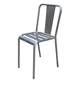 Silla de estilo industrial hosteleria barcelona - Silla metalica apilable ...