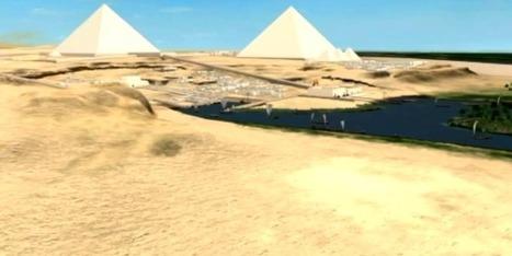 Découvrir les pyramides du Caire en 3D au musée de Boston et sur internet | LeZart | Scoop.it
