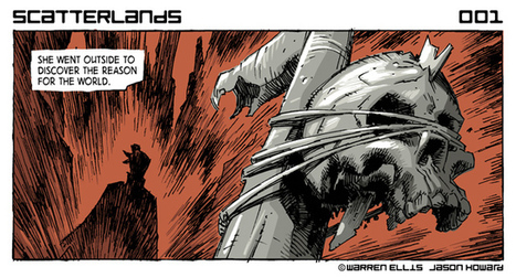 Warren Ellis lance Scatterlands en ligne | Comics France | Scoop.it