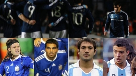 The argentinian list for the World Cup | FIFA World Cup Brazil 2014 | Scoop.it