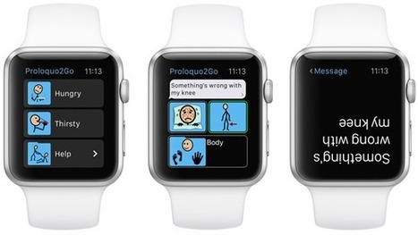 Proloquo2Go for Apple Watch: now also for communication! | AAC: Augmentative and Alternative Communication | Scoop.it