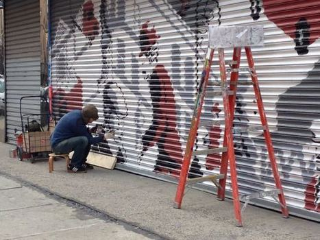 "Latest ""100 Gates"" Mural is the Work of a New Yorker Illustrator - The Lo-Down 