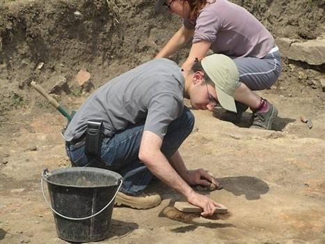 Les archéologues explorent la domus diablintes , Jublains 17/07/2011 - ouest-france.fr | GenealoNet | Scoop.it