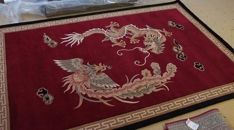 "Custom Area Rug by Alexanian   Alexanian Carpet & Flooring - ""The World at Your Feet"" www.alexanian.com   Scoop.it"
