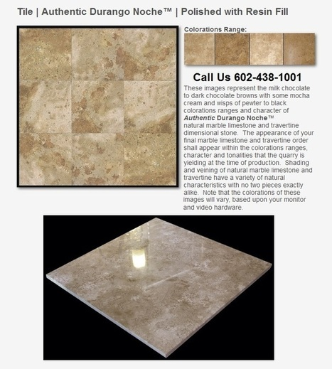 Phoenix travertine tile colors milk chocolate with wisps of pewter | Natural Stone Travertine Tiles | Scoop.it