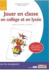 Jouer en classe en collège et en lycée   Pour la classe d'histoire-géographie   Scoop.it