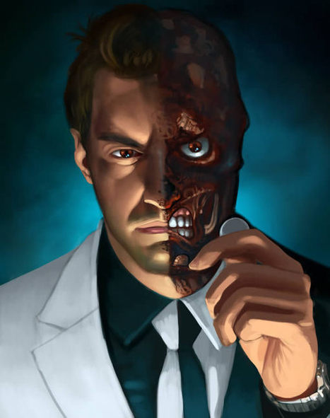 "Create a ""Two-Faced"" Digital Painting in Photoshop 