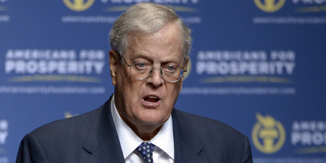 Koch Brothers Net Worth Soars Past $100 Billion | Coffee Party News | Scoop.it
