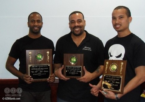 Daniel and Chen split top prizes on Tri-State Tour | Pool & Billiards | Scoop.it