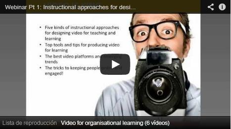 Los mejores consejos sobre el diseño y uso de vídeo para la Formación Online | Noticias, Recursos y Contenidos sobre Aprendizaje | Scoop.it
