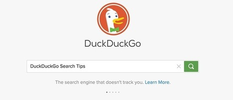 DuckDuckGo Search Tips You Should Know to Boost Productivity - Make Tech Easier | Aprendiendo a Distancia | Scoop.it