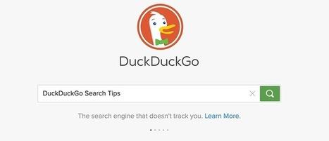 DuckDuckGo Search Tips You Should Know to Boost Productivity - Make Tech Easier | Aprendiendo a Distancia | Scoop.it