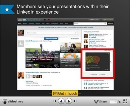 LinkedIn to Let Marketers Use Slide Shows in Ads - SocialTimes | Social Network & Digital Marketing | Scoop.it