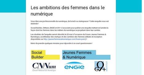 Les ambitions des femmes dans le numérique | Campus numérique | Scoop.it