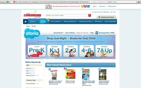 Scholastic Is Bringing E-Books To Children With Storia -- AppAdvice | iPads in Education Daily | Scoop.it